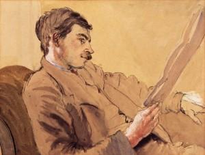 NPG 4553; John Maynard Keynes, Baron Keynes by Gwendolen ('Gwen') Raverat (nÈe Darwin)